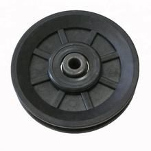 cable gym 90mm/100mm/110mm pulley roller, cable pulley wheels for treadmill