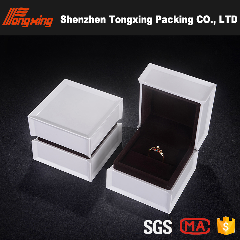 Luxury design wooden pen box earring box jewelry gift box
