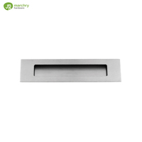 Best selling products stainless steel flush finger cabinet door pull handles