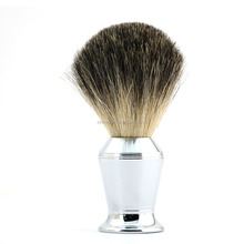 ZY Customed Made Pure Badger Hair Shaving Brush With Alloy Handle