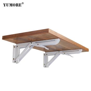 Modern Design Metal Furniture Iron Folding Brace Table Leg Shelf Brackets