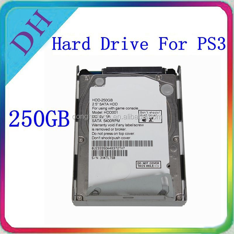 [HOT HDD!!] slim hdd 250gb for PS3 hard disk drive, with retail box