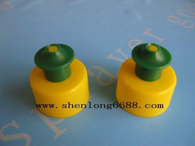 vert jaune en plastique push pull bouchon de la. Black Bedroom Furniture Sets. Home Design Ideas