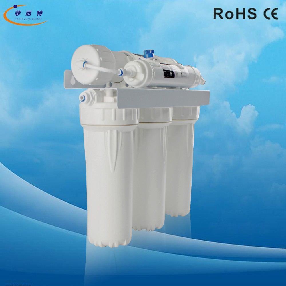 ABS Water Purifier Cover Under Sink UF Water Filter Equipment 5-Stage