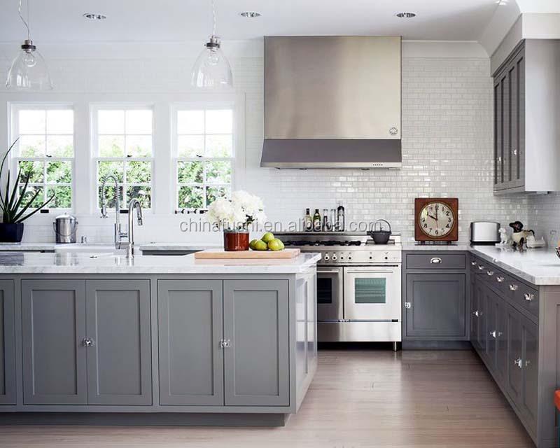 Tipo Modulare Rta Light Grey Shaker Stile Americano Armadio Da Cucina In  Legno - Buy Armadio Da Cucina Modulare,Di Legno Armadio Da Cucina,Grigio ...