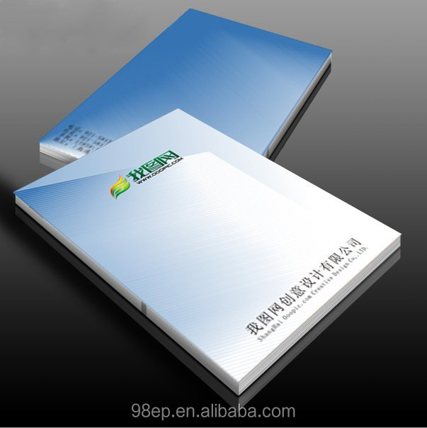 Full Color Perfect Bound Catalog/Booklets/Brochure /book Printing