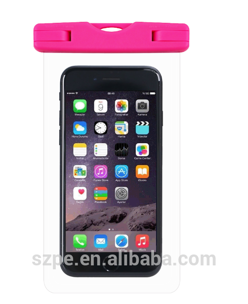 PVC waterproof cell phone bags/water proof phone cases/Hign quality waterproof camera case
