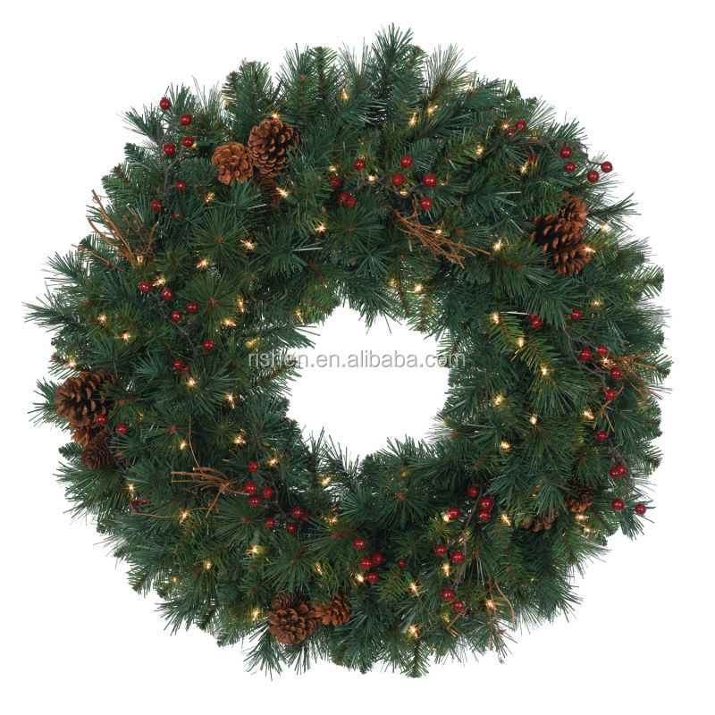 Bulk Christmas Garland.Bulk Christmas Wreath Garland In Cane Linen With Novelty Pattern Bow Details Buy Christmas Wreath With Reindeer Indoor Christmas Wreaths Led