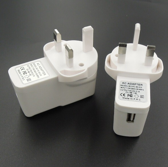 5V 2000mA UK Mains AC-DC Adaptor 10W USB Power Supply Charger