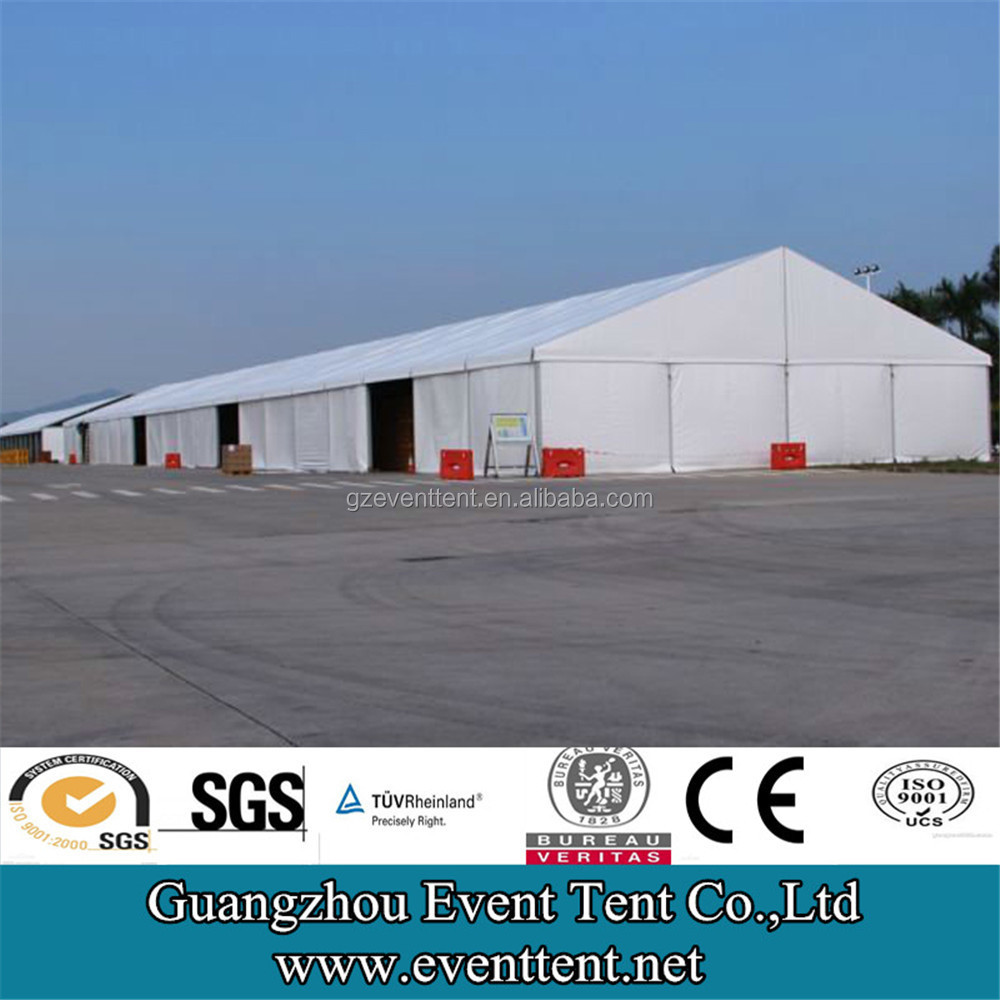 40meters large span steel space frame structure warehouse, prefabricated steel structure warehouse
