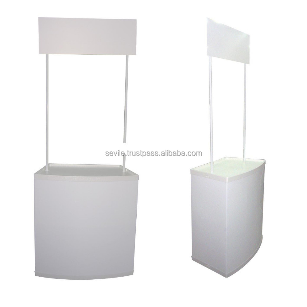 Promotion table, promotional counter booth