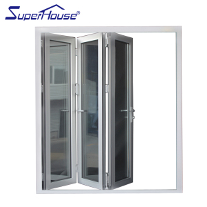 china iron folding door aluminium folding door for toilet