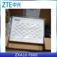 ZTE ZXA10 F660 FTTH GPON ONT Modem ONU Optical Network Unit