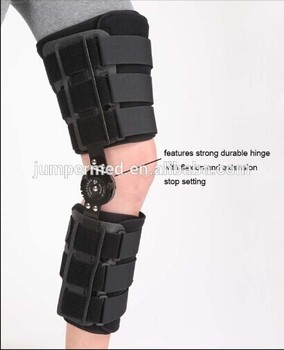 Kn-603 Orthopedic Rigid Foam Broken Leg Hinged Knee Support