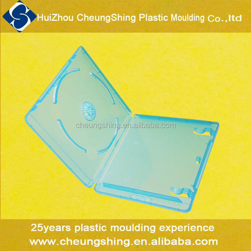 Wholesale high quality export USA Europe Asia plastic 11mm blu-ray DVD case
