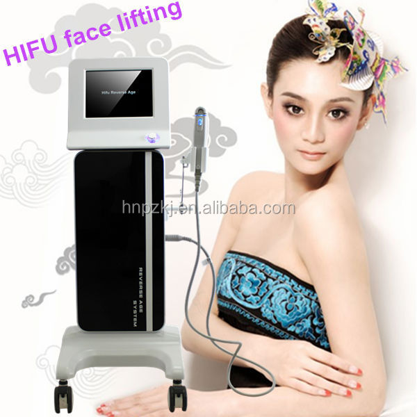 2014 best HIFU for wrinkle removal machine / hifu transducer