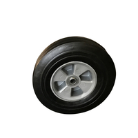 Cheap price durable heavy duty 10x2.5 solid wheel made in china