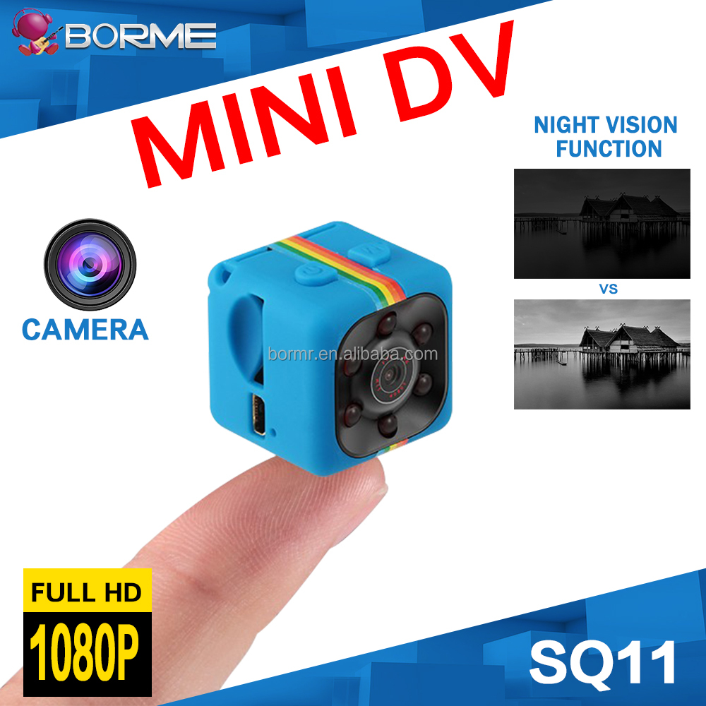 cmos sensor mini spy camera SQ11 portable security camera with high resolution