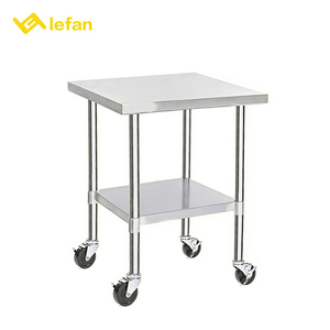 Stainless Steel Luxury Service Food Serving Trolley For Kitchen
