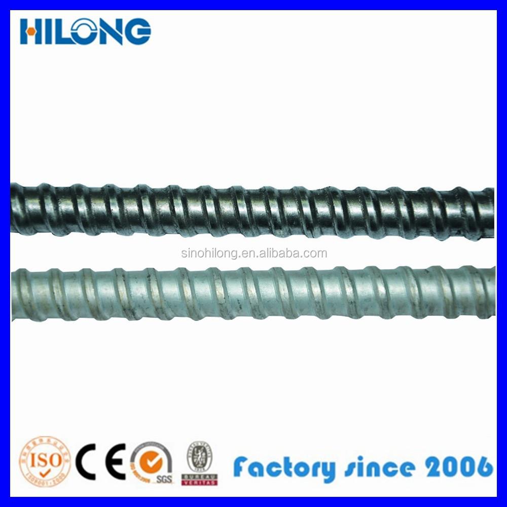 Encofrado de acero varilla roscada barra de acoplamiento - Material de encofrado ...