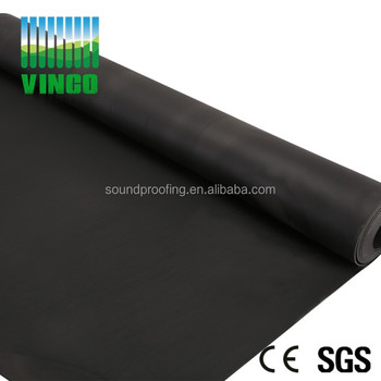 felt cars soundproofing rubber roof membrane felt with no smell eco friendly