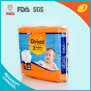 Disposable Cloth-Like back sheet baby diapers