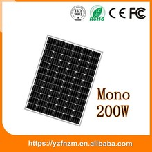 cheap solar panels china 200w mono for off grid system good quality, pv module