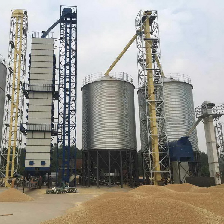 500tons horizontal steel silos storage used for sale