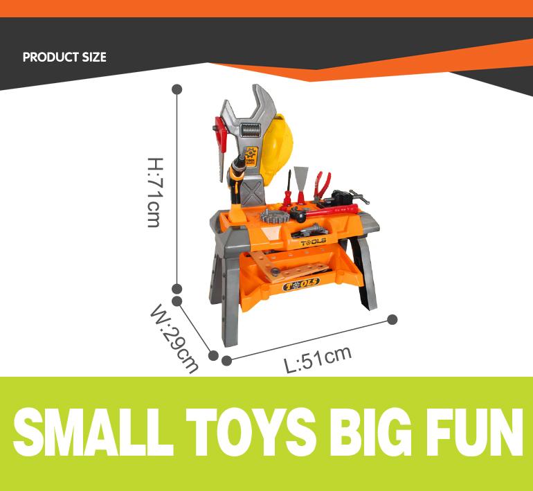 Материал охраны окружающей среды дети весело игрушки инструменты обслуживания от фабрики Китая