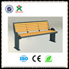 China supplier cheap patio gazebo bench / patio wood bench / outdoor wooden bench (QX-143K)