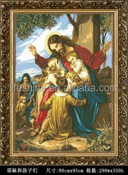 "'Jesus & Children"" DIY Full Diamond Painting"