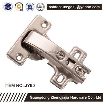 Spring Hinge Adjustable Soft Close Cabinet 90 Degree Locking