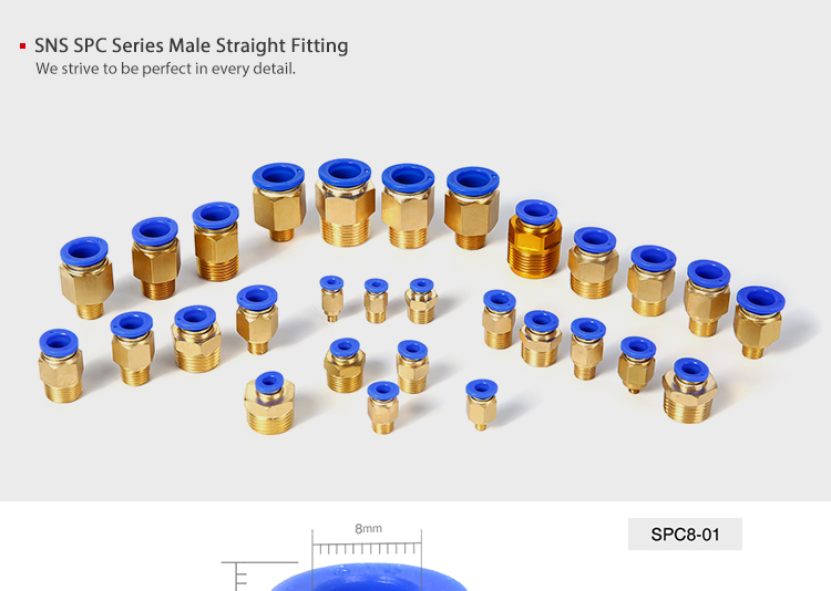brass pneumatic fitting