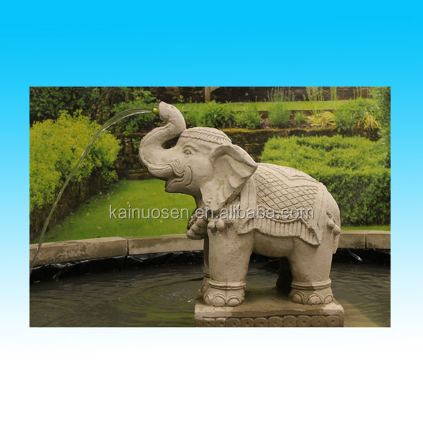 customized polyresin water elephant garden fountain for sale