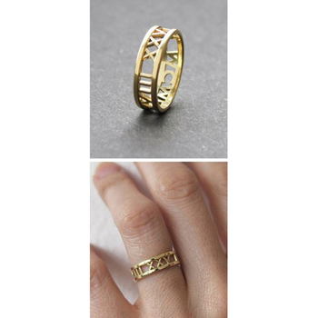Simple Adjustable 3 Gram Unique Stylish Gold Ring Without Diamond