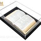 Wholesale Customized Size Transparent Acrylic Book Display Case With Excellent Quality