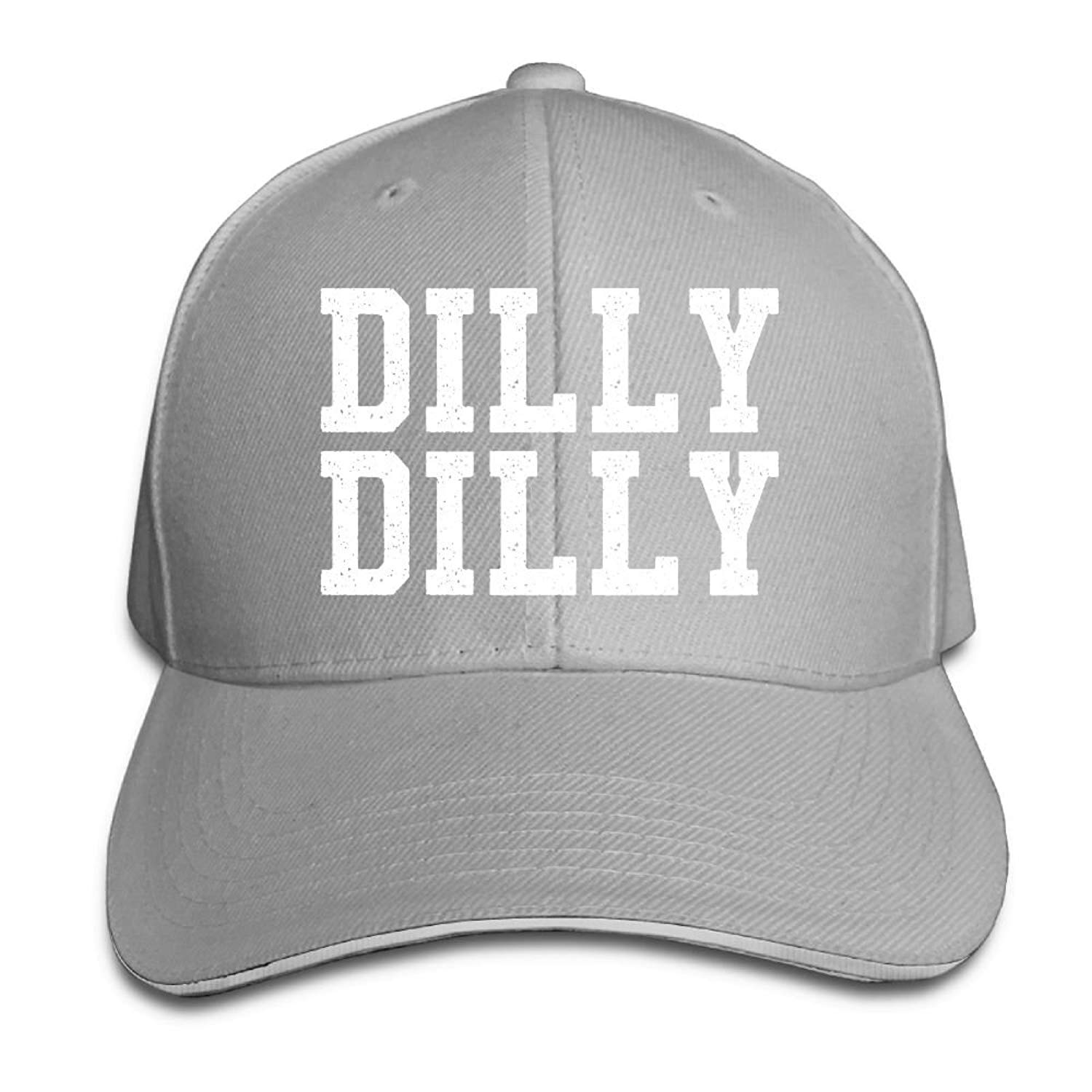 256c0209a1391 GENZHESI Dilly Dilly Adjustable Baseball Hat Dad Hats Trucker Hat Sandwich  Visor Cap