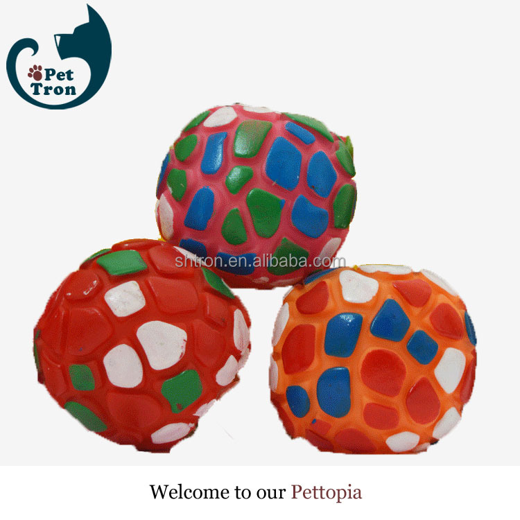 New products professional newest design natural rubber dog ball