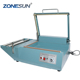ZONESUN Manual L bar sealing machine sleeve plastic wrapping bag sealer shrink film sealing machine PVC plastic sealer