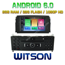WITSON Octa-Core(Eight Core) Android 6.0 CAR DVD GPS For MERCEDES-BENZ C CLASS W204 2007-2011 2G ROM 1080P TOUCH SCREEN 32GB ROM