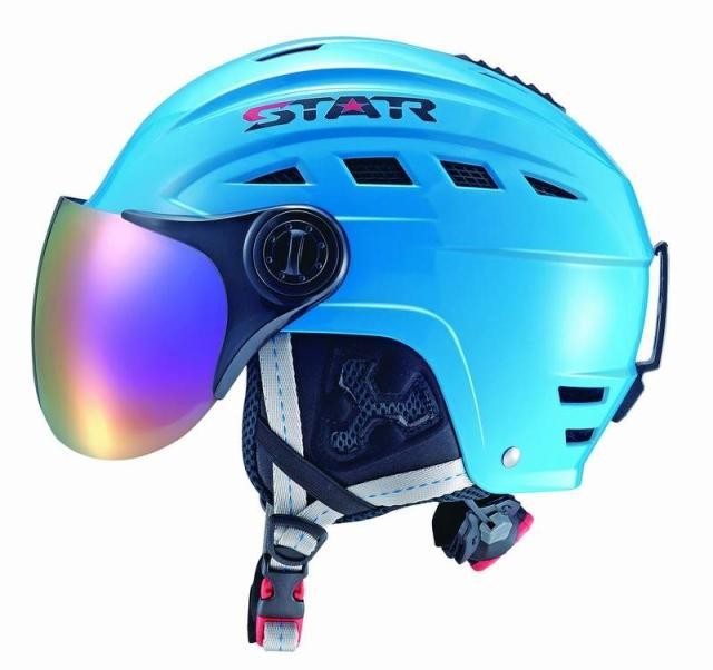 Top Quality adult Ski Helmet With ABS Shell Snowboard Protection Snowboarding Skiing helmet With ski lens For Adult фото