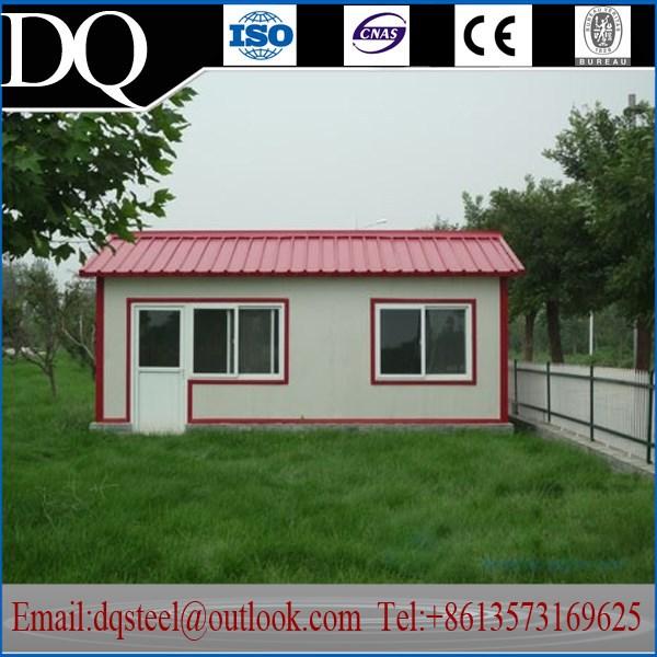 Taille personnalis e haute qualit t le ondul e toit pour - Maison en tole ondulee ...