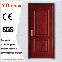 high quatity brown shaker one leaf door sound proof polish wood door YBVD-6076