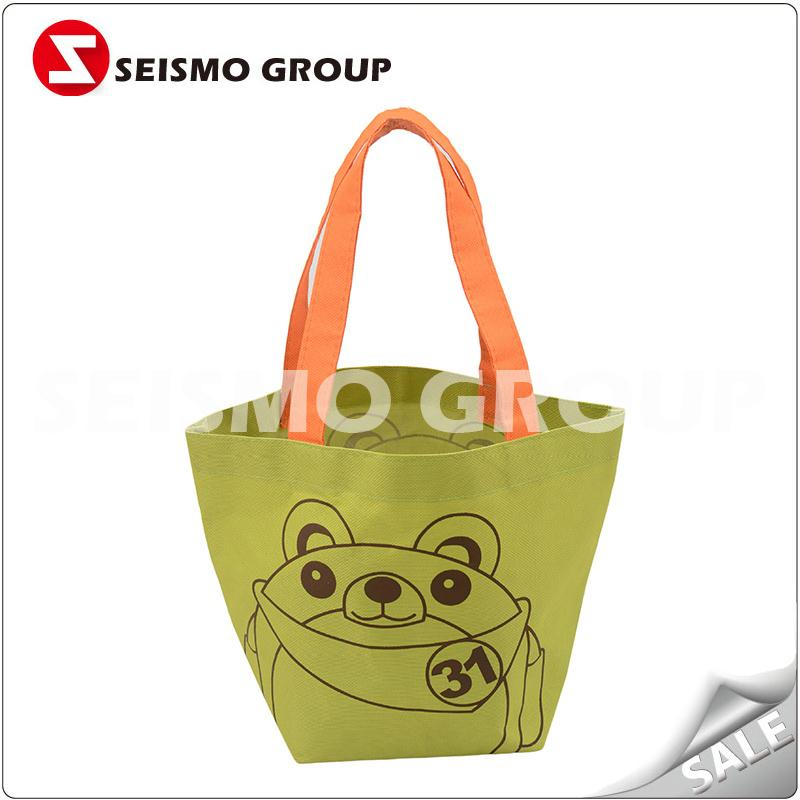 dacron shopping bag advertising promotional reusable shopping bag