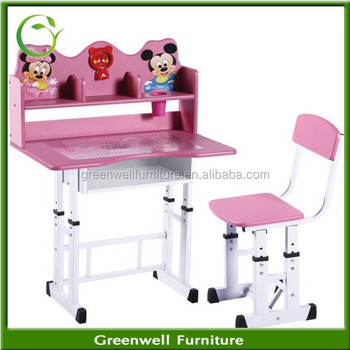 Gentil Cheap PB Plastic Children Study Table And Chair For Child Furniture