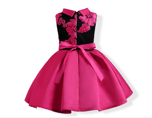 Hot Selling Kids Chinese Traditional Fancy Dress Elegant Royal Children Ball Gown Dress L-574