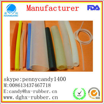 thin silicone rubber tube