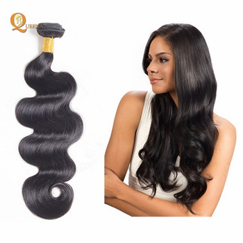 8A Grade 100% Raw Remy Virgin Brazilian Hair Body Wave Hair Extensions Best Wholesale  Virgin cec6e64ffb
