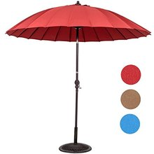 new coming Paradise Patio Umbrella Parasol 2.7M aluminium frame garden waterproof polyester patio outdoor umbrella