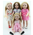Vinyl American 18 inch Girl Doll Collection Baby Alive Toys Handmade New Style Baby Gift In